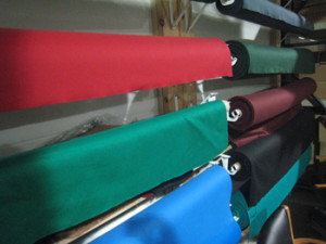 Massillon pool table recovering table cloth colors